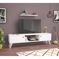 Ankara Mobi̇Lya Emre Beyaz 140 Cm Tv Sehpası