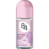 8X4 Soft Kiss Roll-On Deodorant 50Ml Kadın