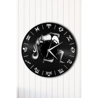 Angemiel Home Kova Burç AstrolojiÇelik Saat Duvar Ev Ve Ofis Dekorasyon