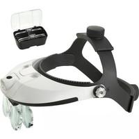 Hobi24 Büyüteçli Gözlük - Ledli Büyüteç Mg81001-H