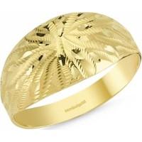 SembolGold 14 Ayar Altın Şık Tasarım Yüzük