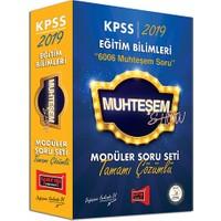 Yargı Yayınları 2019 KPSS Eğitim Bilimleri Muhteşem Show Tamamı Çözümlü Modüler Soru Seti