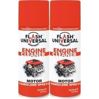 2Li Set Flash Universal Motor Temizleme Sprey 200Ml