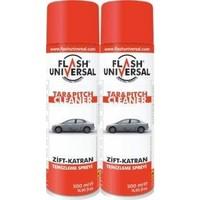 2Li Set Flash Universal Zift Katran Temizleme Sprey 500Ml