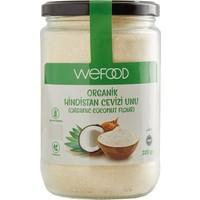 Wefood Sertifikalı %100 Organik Hindistan Cevizi Unu 320 gr