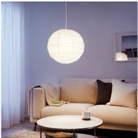 İkea Regolit Kağıt Japon Feneri Sarkıt Lamba Tavan Lambası 45 Cm