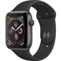 Apple Watch Seri 4 40mm GPS Uzay Grisi Alüminyum Kasave Siyah Spor Kordon - (MU662TU/A)