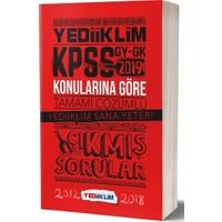 Yediiklim Yayınları 2019 KPSS GY-GK Konularına Göre Tamamı Çözümlü Çıkmış Sorular