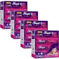 Sleepy Sensitive Yenidoğan Islak Pamuklu Mendil 4 Lü 4x40'lı Paket (640 Yaprak)