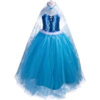 Pan Kostüm & Tasarım Elsa Tarzı Pelerinli Kostüm