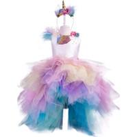 Pan Kostüm & Tasarım Unicorn Pony Kız Çocuk Kostüm