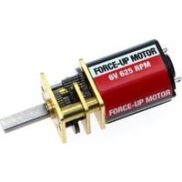 Force Up Force-Up 6V 625 Rpm Karbon Fırçalı Dc Motor