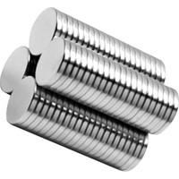 Lupora Neodyum mıknatıs (10 mm x 1 mm ) 10 adet