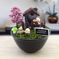 E Hediyeci Birlikte Yaşlanalım Yazılı özel Minyatür Bahçe Fiyatı