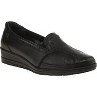 Forelli 25109 Memory Foam Günlük Siyah Kadın Ayakkabı