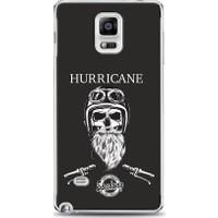 Eiroo Samsung Galaxy Note 4 Hurricane Baskılı Tasarım Kılıf