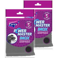 Parex 2 Adet Power Master Inox Bulaşık Süngeri