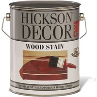 Hickson Dekor Plus Wood Stain Walnut 1 Lt Ahşap Boyası Sovent Bazlı