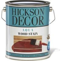 Hickson Dekor Aqua Stain Polar White 1 Lt Ahşap Boyası Su Bazlı