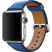 Apple Watch 38mm Klasik Tokalı Deniz Mavisi Kordon - MNKU2ZM/A