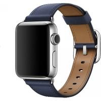 Apple Watch 38mm Gece Mavisi Tokalı Klasik Kordon - MPWD2ZM/A