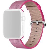 Apple Watch 42 mm Naylon Örme Pembe Kordon - MMA22ZM/A