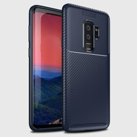 Mueral Samsung Galaxy S9 PLUS Mueral Karbon Negro Silikon Kılıf