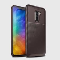 Mueral Xiaomi Pocophone F1 Mueral Karbon Negro Silikon Arka Kılıf