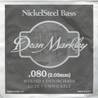 Dean Markley Nickel Steel Bass .080 Bas Gitar Tek Tel