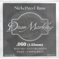 Dean Markley Nickel Steel Bass .060 Bas Gitar Tek Tel