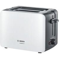 Bosch TAT6A111 Kompakt Ekmek Kızartma Makinesi Beyaz / Koyu Gri