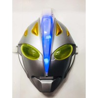 Samur Işıklı Uzaylı Robot Maskesi