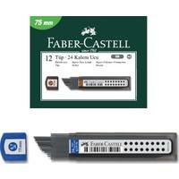 Faber-Castell Süper Fine Min Versatil Kalem Ucu 2B 0.7 75 Mm 5090127775 12 Li (1 Paket 12 Tüp)