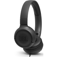 JBL T500 Mikrofonlu Kablolu Kulaküstü Siyah Kulaklık