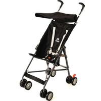 Aldeba 3020 Pratik Baston Bebek Arabası Siyah