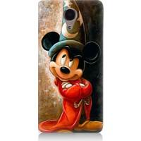 Teknomeg Casper Via P1 Büyücü Mickey Mouse Desenli Tasarım Silikon Kılıf