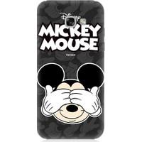 Teknomeg Samsung Galaxy A3 2017 Mickey Mouse Desenli Tasarım Silikon Kılıf
