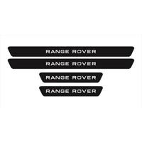 Ömr Dizayn Hediye Range Rover Kapı Eşiği 4 Lü Aksesuar