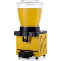 Samixir M22 Soğuk İçecek Dispenseri, 22 L, Analog, Panaromik, Sarı