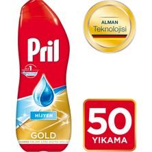 Pril Bulaşık Makinesi Deterjanı Gold Jel Hijyen 50 Yıkama