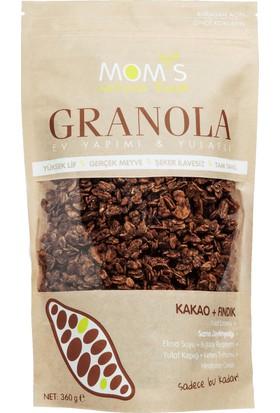 Mom'S Natural Foods Kakao Fındık granola 360 gr