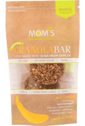 Mom'S Natural Foods Muz Ceviz granola Bar 60 gr