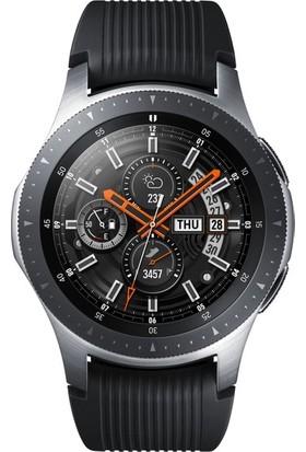 Samsung Galaxy Watch (46mm) Gümüş - SM-R800NZSATUR + Level U Bluetooth Kulaklık Altın (Samsung Türkiye Garantili)