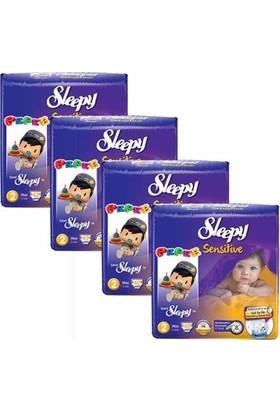 Sleepy Sensitive Bebek Bezi 2 Beden Mini Jumbo Paket 42X4 168 Adet
