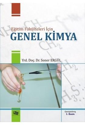 Eğitim Fakülteleri İçin Genel Kimya