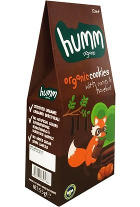 Humm Organic Keçiboynuzlu Fındıklı Kurabiye