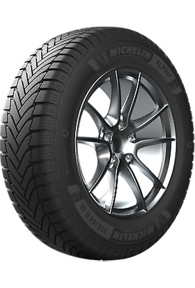 Michelin 225/45 R17 91H Alpin 6 Oto Kış Lastiği ( Üretim Yılı: 2021 )