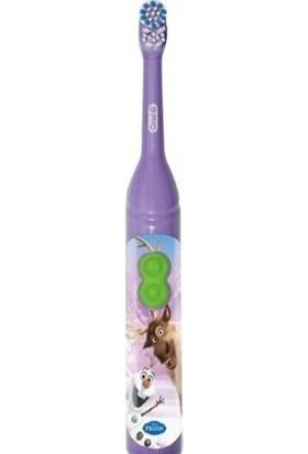 Oral-B Braun Pilli Diş Fırçası Çocuk D2010k 3+ Olaf ve Swen