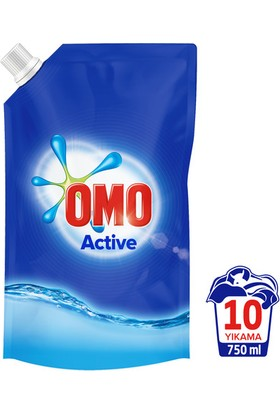 Omo Sıvı Pouch Actıve 750 ml
