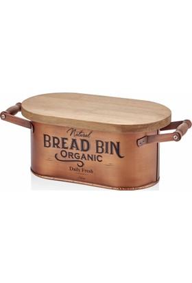 The Mia Bakır Kaplama Ekmek Kutusu Küçük